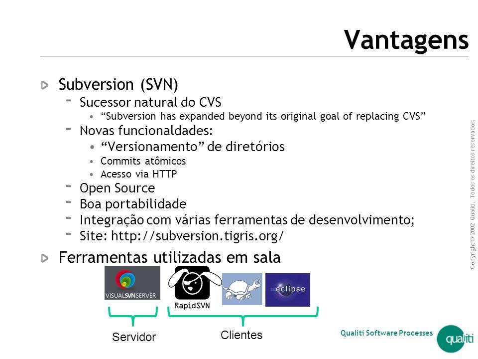 Qualiti Software Processes Subversion (SVN) Rodrigo Teixeira