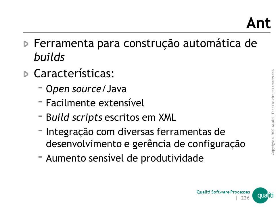 Qualiti Software Processes Ant | 235