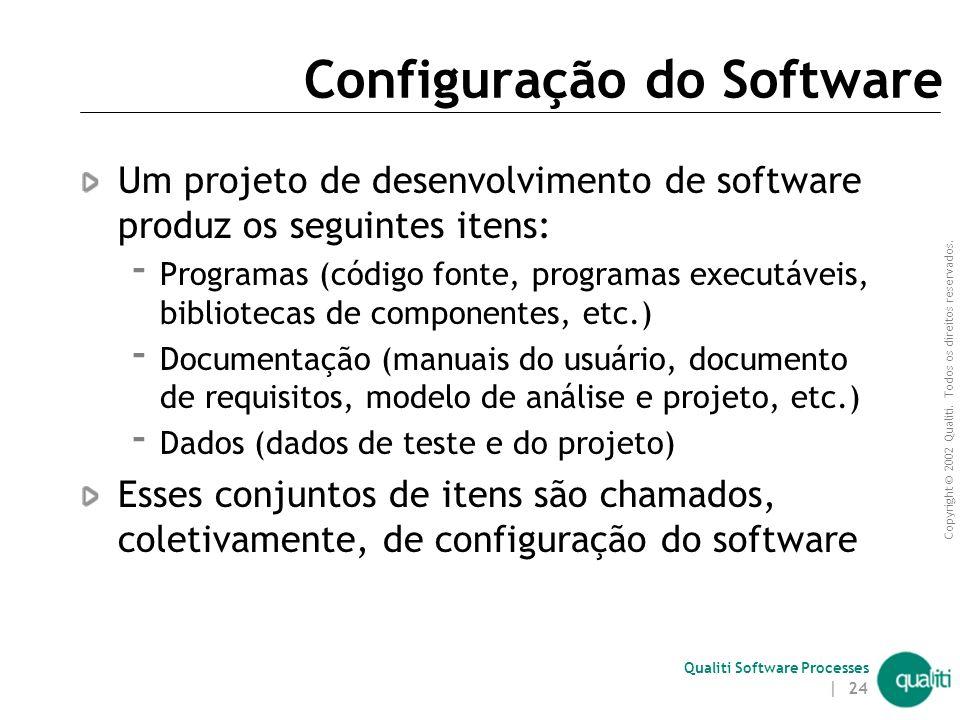 Qualiti Software Processes Conceitos Básicos