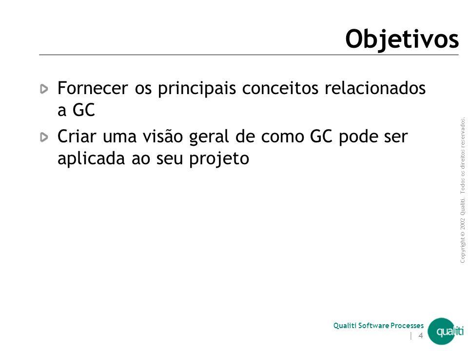 Qualiti Software Processes Fluxo de Trabalho com SVC