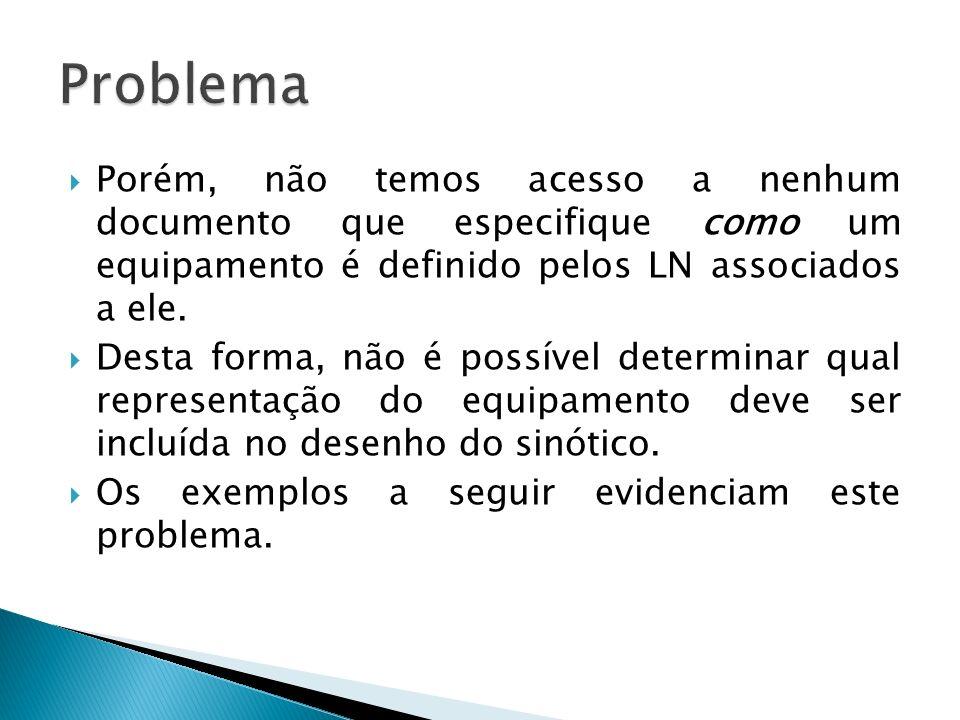 Porém, não temos acesso a nenhum documento que especifique como um equipamento é definido pelos LN associados a ele.