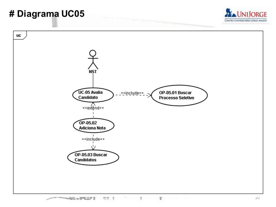 # Diagrama UC05 10