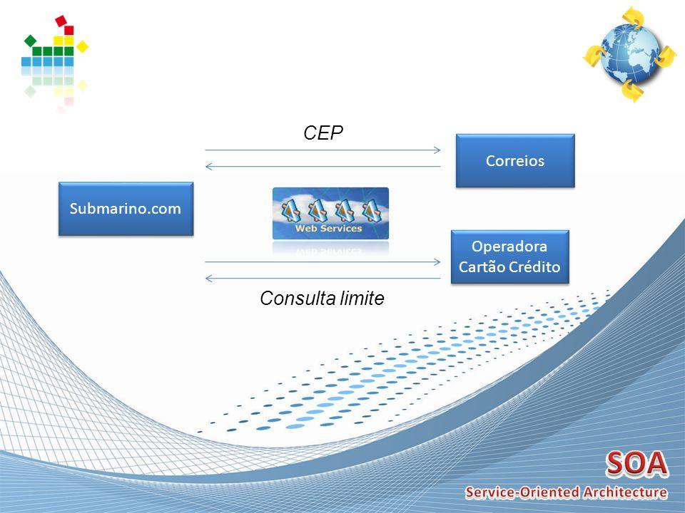 Submarino.com Correios CEP Operadora Cartão Crédito Operadora Cartão Crédito Consulta limite