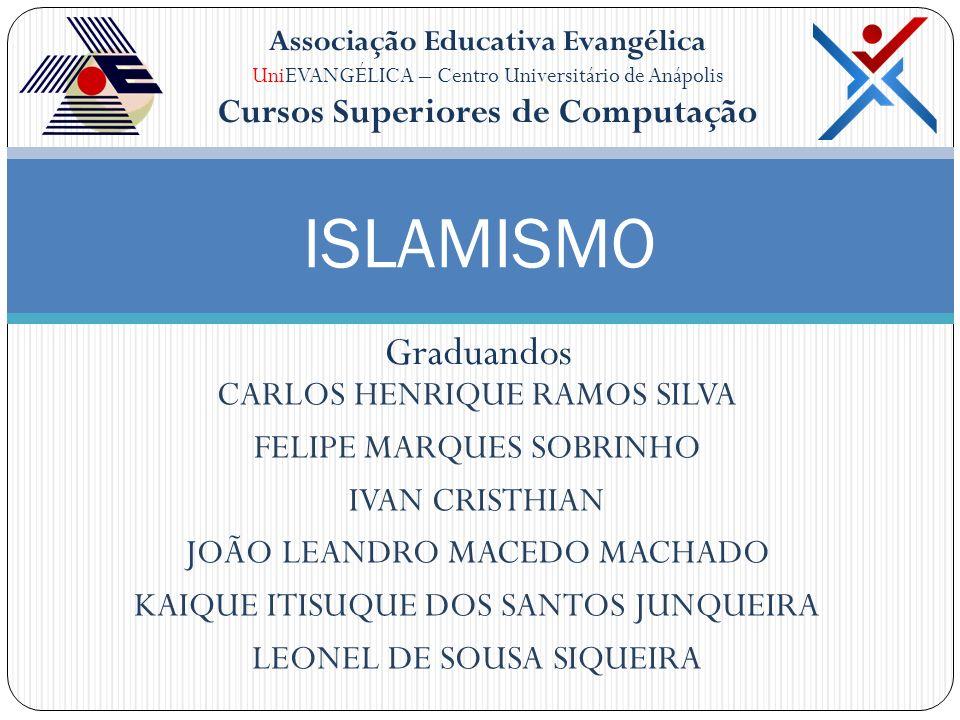Associação Educativa Evangélica UniEVANGÉLICA – Centro Universitário de Anápolis Cursos Superiores de Computação CARLOS HENRIQUE RAMOS SILVA FELIPE MA