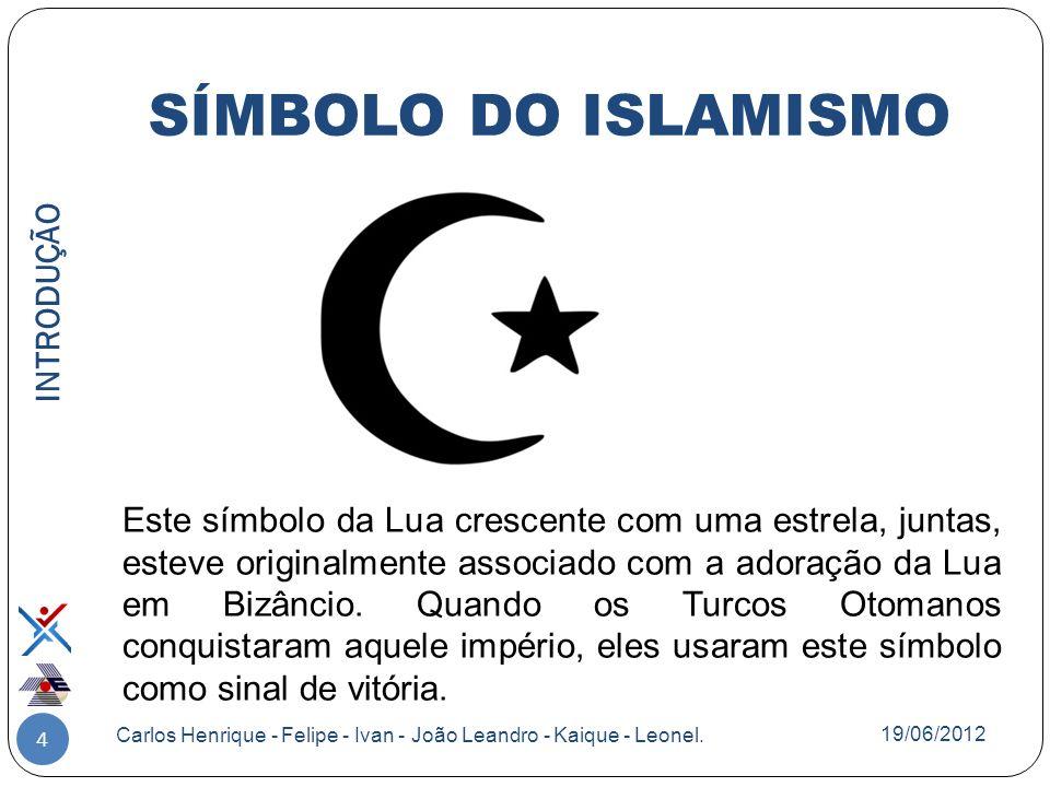 5 É uma religião monoteísta.Surgiu na Península Arábica no século VII.