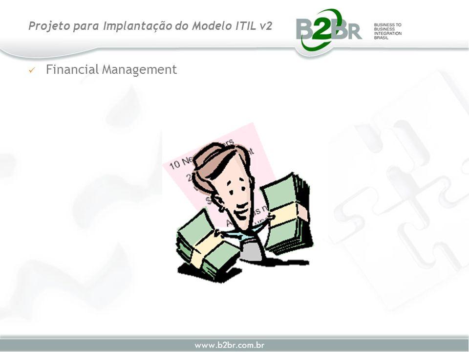 Financial Management Projeto para Implantação do Modelo ITIL v2