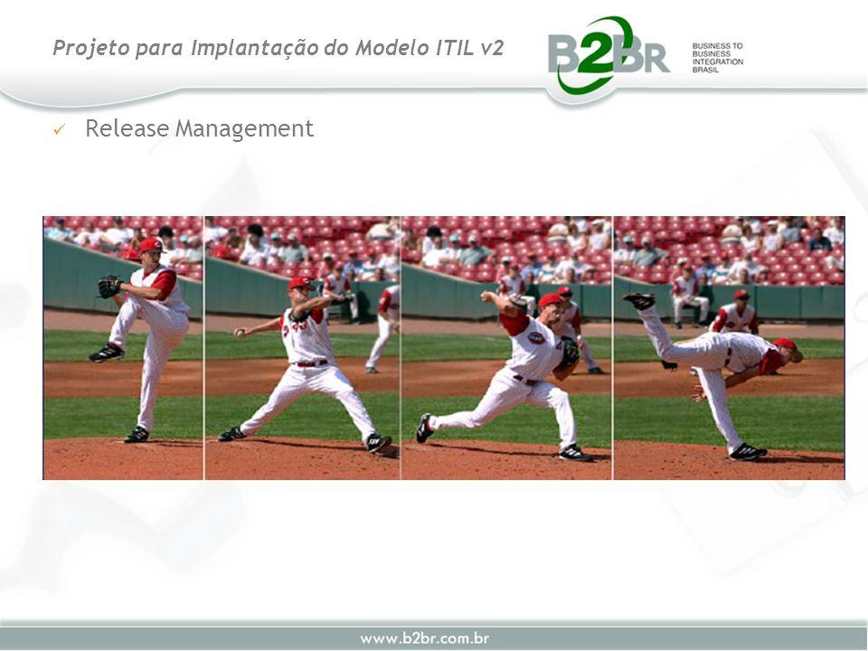 Release Management Projeto para Implantação do Modelo ITIL v2