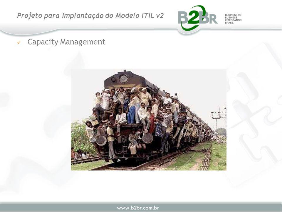 Capacity Management Projeto para Implantação do Modelo ITIL v2