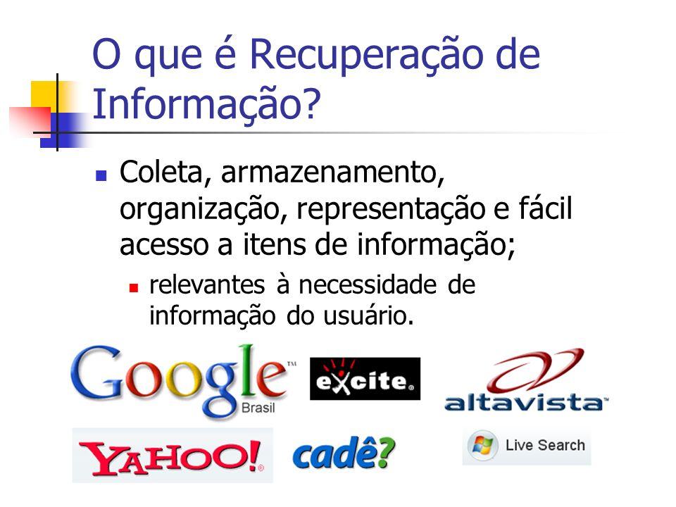O que é Recuperação de Informação.