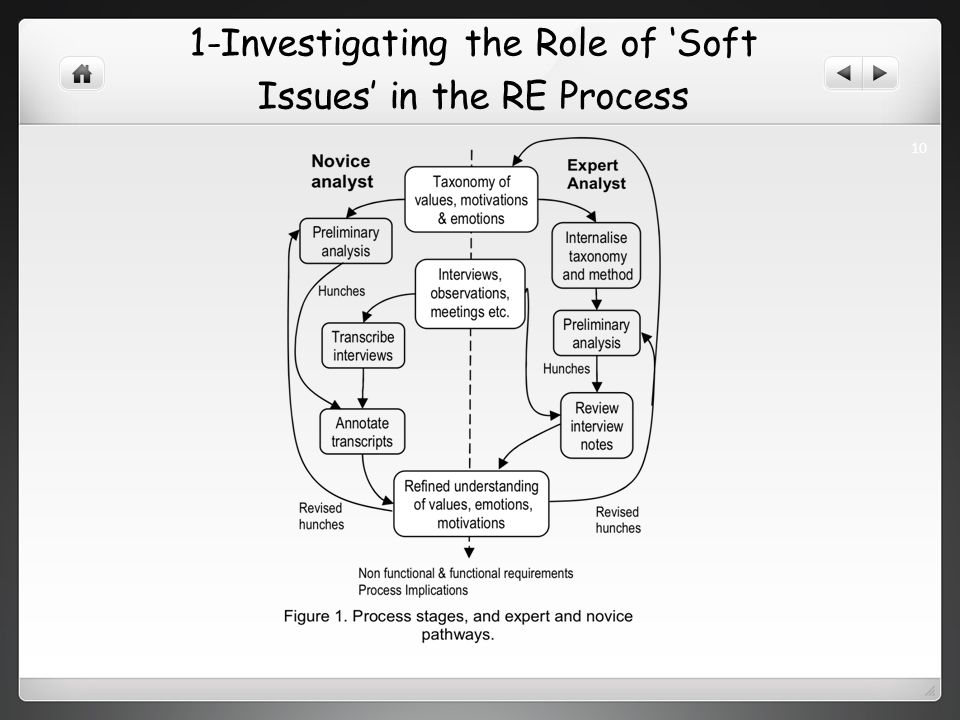 1-Investigating the Role of Soft Issues in the RE Process 10