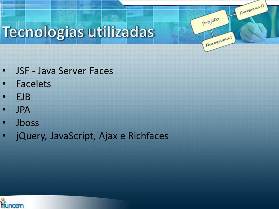 JSF - Java Server Faces Facelets EJB JPA Jboss jQuery, JavaScript, Ajax e Richfaces
