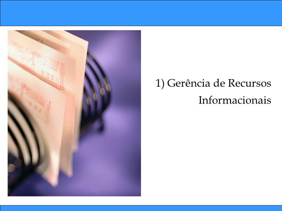 Tipos de Informação nas Organizações Precisão, rapidez e facilidade para armazenamento de estruturação da informação.