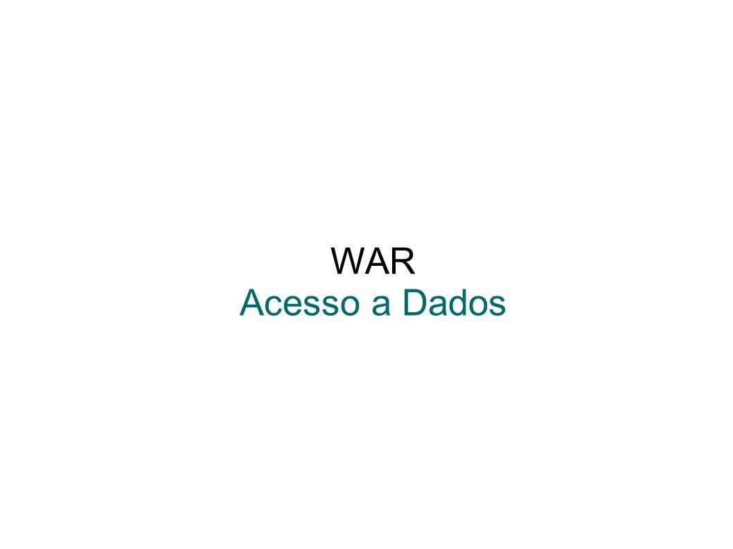 WAR Acesso a Dados