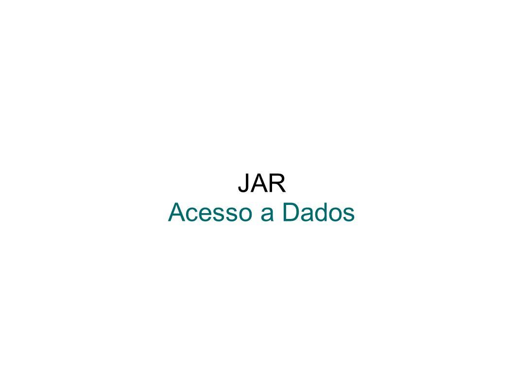 JAR Acesso a Dados