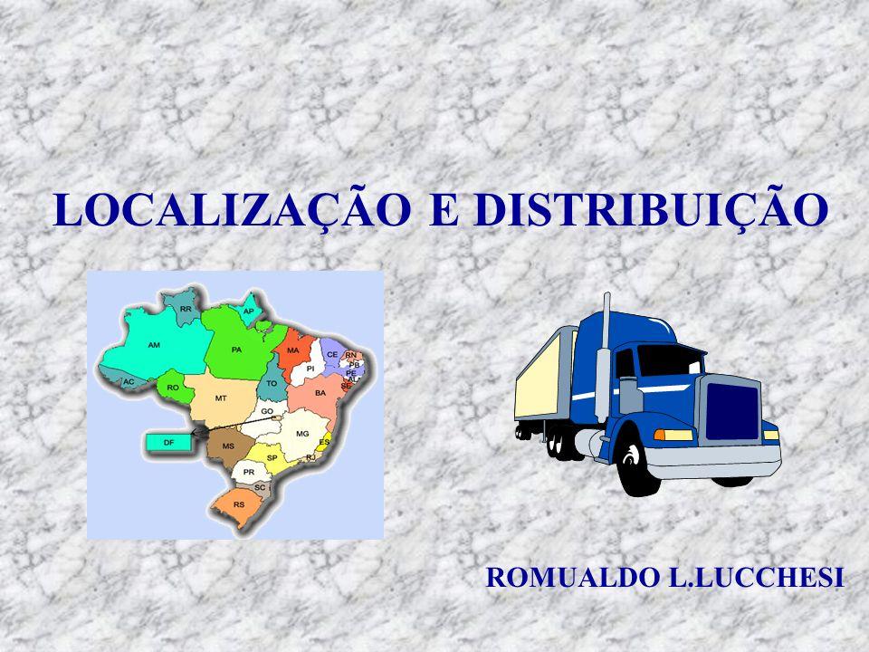 LOCALIZAÇÃO E DISTRIBUIÇÃO ROMUALDO L.LUCCHESI
