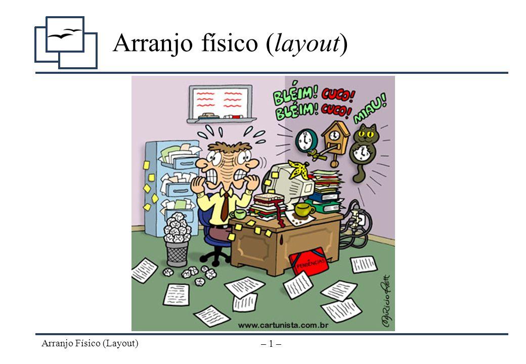 Organização, Sistemas e Métodos Arranjo Físico (Layout)