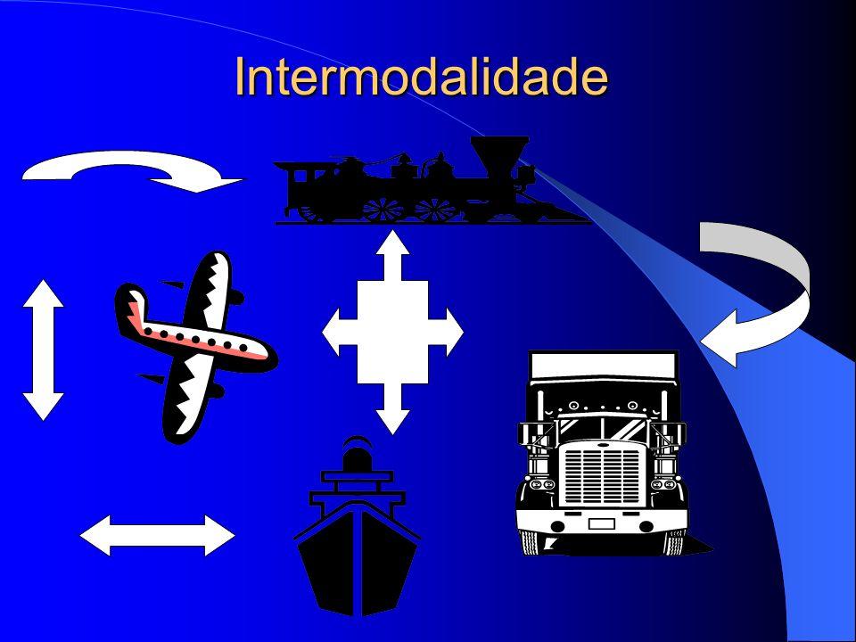 Intermodalidade Definição Ao analisar o conceito de transporte por mais de um modal encontramos na literatura um conjunto de definições que não convergem necessariamente.