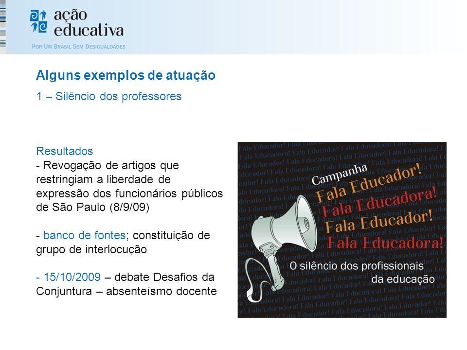 Resultados - Revogação de artigos que restringiam a liberdade de expressão dos funcionários públicos de São Paulo (8/9/09) - banco de fontes; constitu