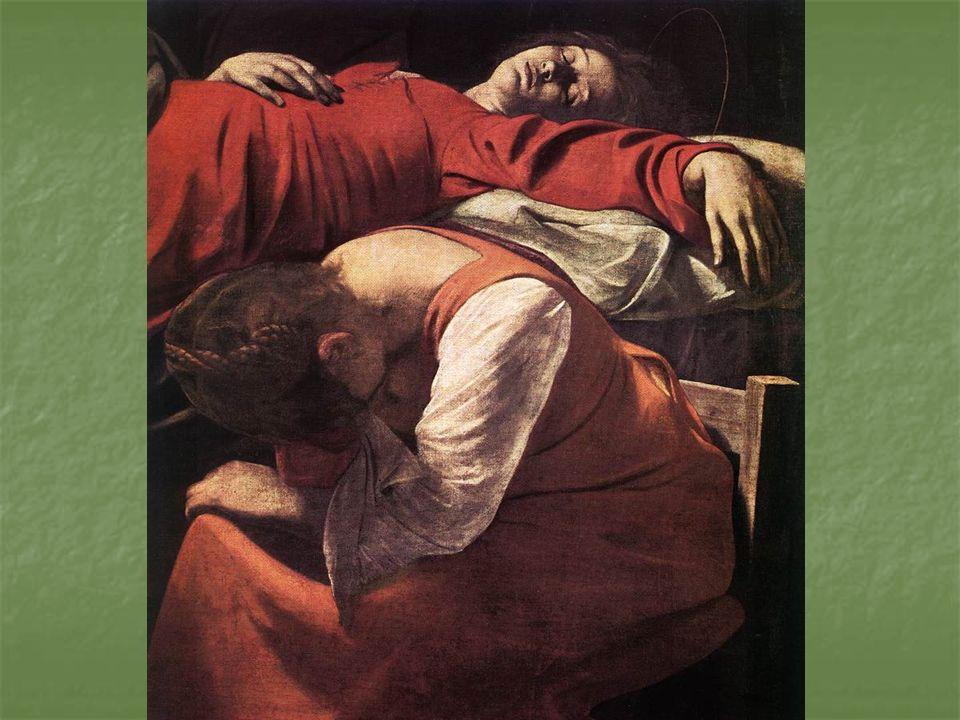 Os efeitos de iluminação, utilizados por Caravaggio, receberam o nome de tenebrismo Os efeitos de iluminação, utilizados por Caravaggio, receberam o nome de tenebrismo Foi um dos primeiros artistas a retratarem cenas bíblicas menos expressivas, retratando o cotidiano da vida de Jesus.