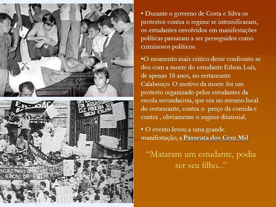 Tropicalismo Movimento cultural que se destacou na música, representavam um rompimento com os padrões estéticos vigentes.