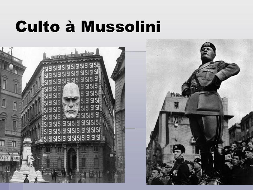 Culto à Mussolini