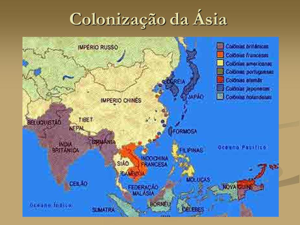 Colonização da Ásia