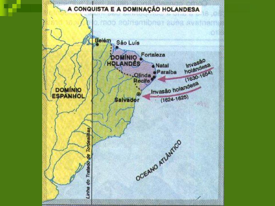 Governo Maurício de Nassau Nassau governou o território dominado pelos holandeses de 1637 até 1644.