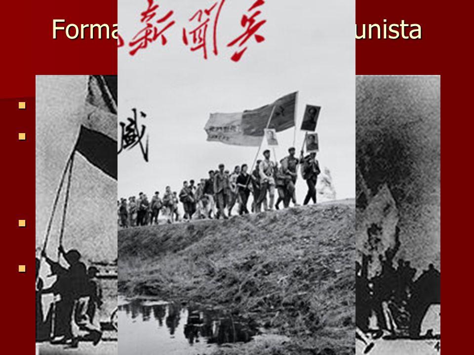 Formação do Partido Comunista Chinês A tomada do poder pelos bolcheviques na Rússia, em 1917, teve enorme repercussão sobre os povos coloniais. A toma