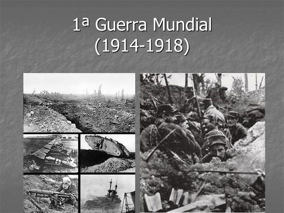 1ª Guerra Mundial (1914-1918)