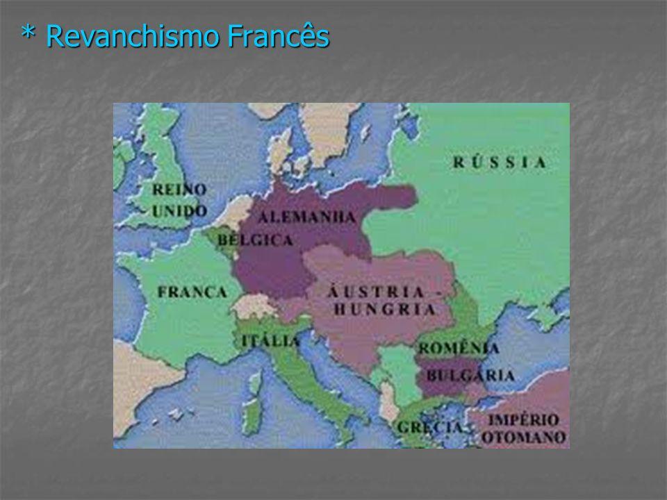 * Revanchismo Francês