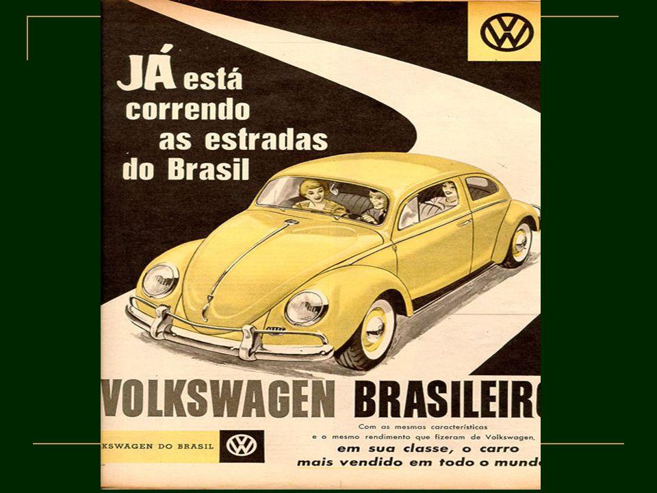 Construção de Brasília Execução de um projeto antigo, remonta ao começo da República; Justificativa: segurança e integração; projeto planejado por Niemeyer, artista de grande expressão no cenário internacional, que representa a modernidade; a construção contou com a participação de imigrantes nordestinos, chamados candangos em 1960 JK inaugura a nova capital do Brasil.