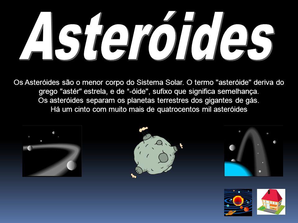 Os Asteróides são o menor corpo do Sistema Solar. O termo