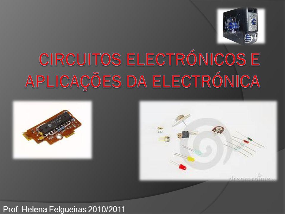 Termístores – resistências variáveis com a temperatura São componentes electrónicos cuja resistência varia com a temperatura.