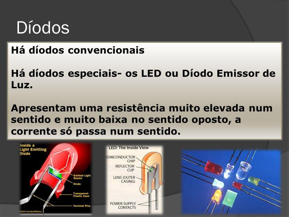 Resistências variáveis LDR – resistências variáveis com a luz Os LDR são componentes electrónicos cuja resistência depende da intensidade da luz que recebem -Quando iluminados, a sua resistência é pequena; - às escuras, ou pouco iluminados, têm grande resistência.