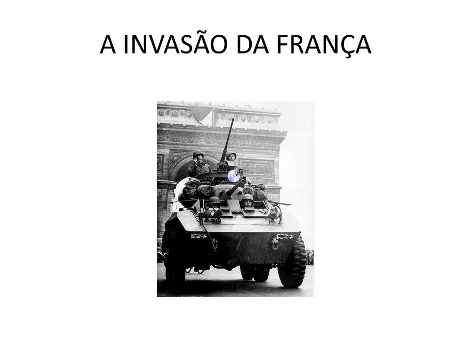 AS VITÓRIAS ALEMÃS A CAMPANHA DA NORUEGA (GUERRA DE MENTIRA - Sitzkrieg); A GUERRA RELÂMPAGO - BLITZKRIEG; A CAMPANHA DA FRANÇA; A RETIRADA DE DUNQUER