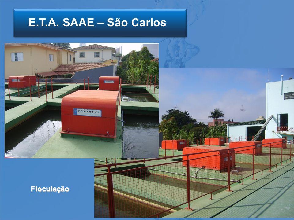 E.T.A. SAAE – São Carlos Floculação