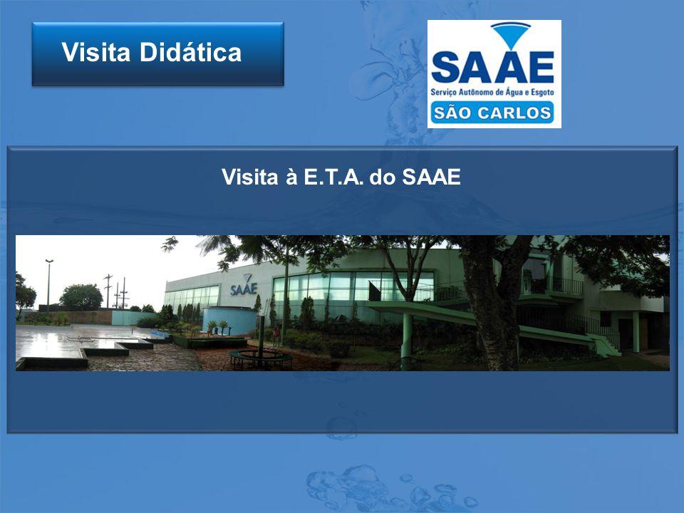Visita à E.T.A. do SAAE Visita Didática