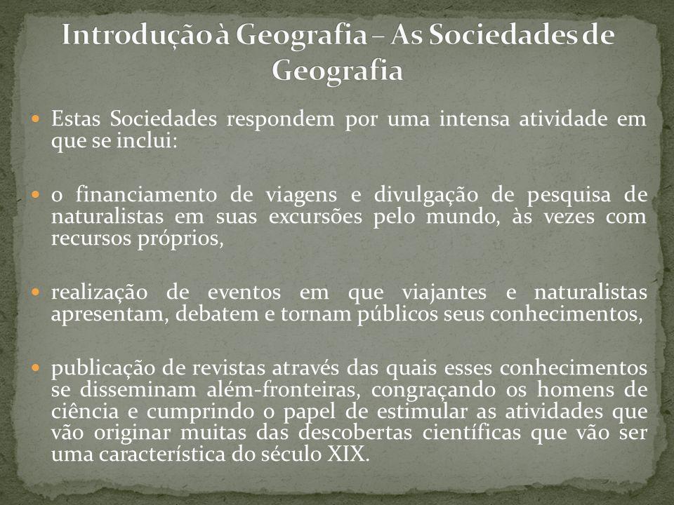 Richard Hartshorne (1899-1992) completa esse percurso, trazendo para a geografia regional vidaliana a presença do enfoque para o da diferenciação de áreas, num retorno à corologia da individualidade regional.