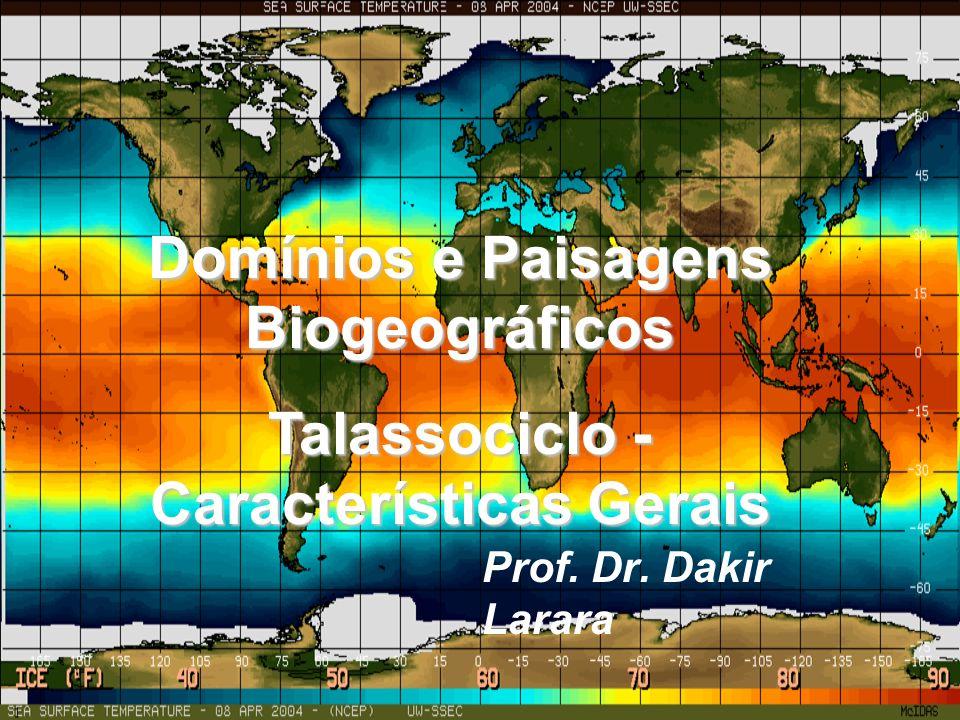 Domínios e Paisagens Biogeográficos Talassociclo - Características Gerais Prof. Dr. Dakir Larara