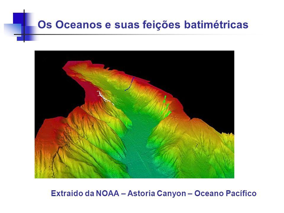 Extraido da NOAA – Astoria Canyon – Oceano Pacífico