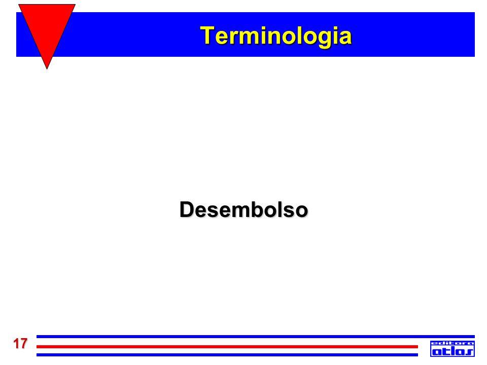 17 Terminologia Desembolso