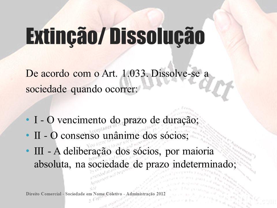 De acordo com o Art.1.033.