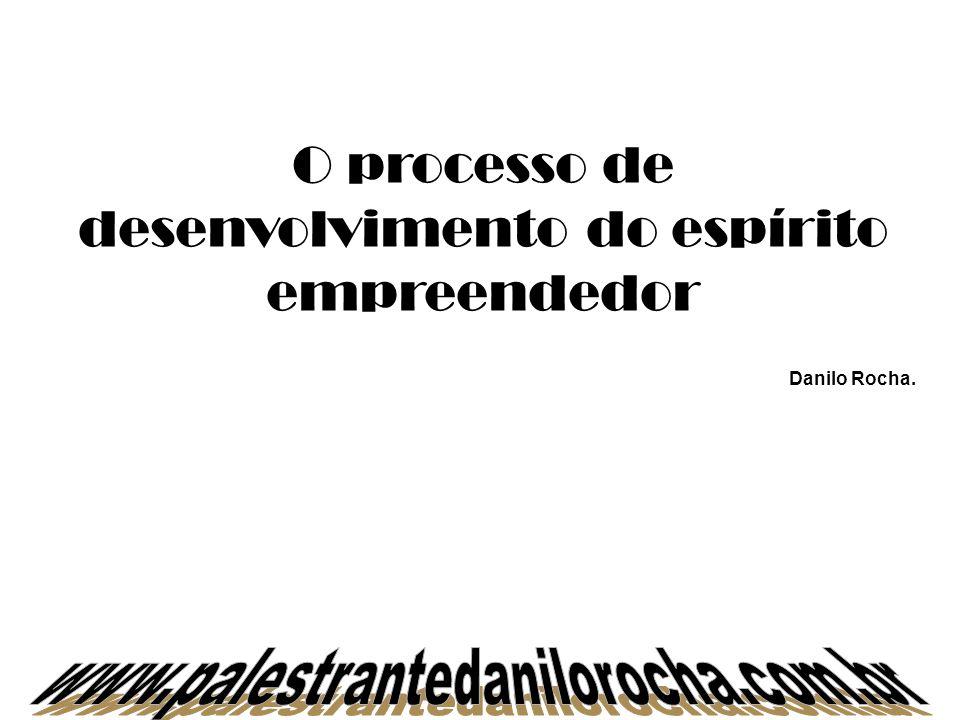 O processo de desenvolvimento do espírito empreendedor Danilo Rocha.