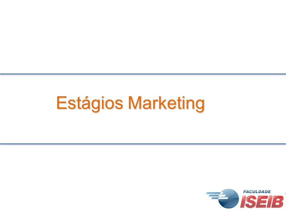 Estágios Marketing