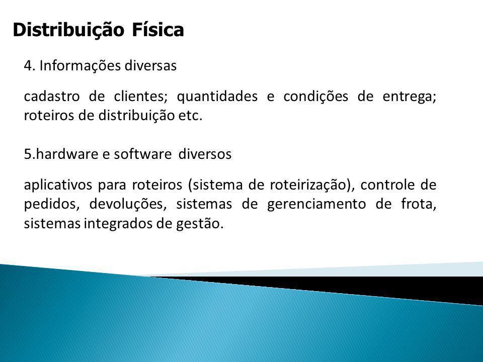 Distribuição Física CONFIGURAÇÕES ESTRATÉGICAS DEDISTRIBUIÇÃO 1.Entrega direta a partir de estoques defábrica;2.Entrega direta realizada por vendedore