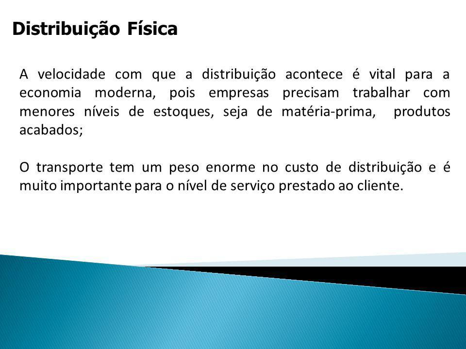 Distribuição Física Uma empresa compra carvão para sua estação termoelétrica.