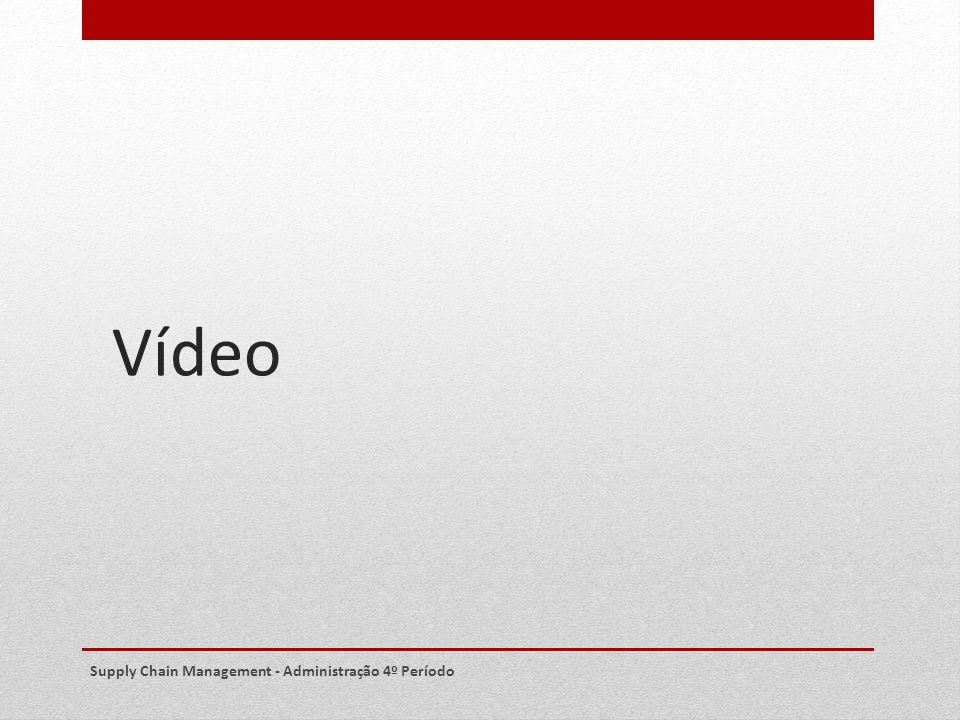 Vídeo Supply Chain Management - Administração 4º Período