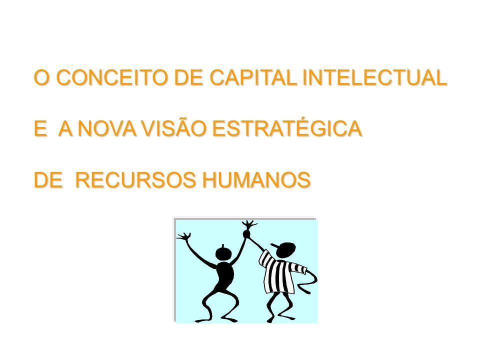 O CONCEITO DE CAPITAL INTELECTUAL E A NOVA VISÃO ESTRATÉGICA DE RECURSOS HUMANOS
