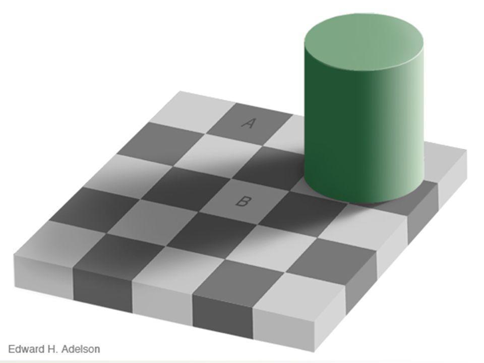 As cores dos quadrados A e B são iguais!? 5