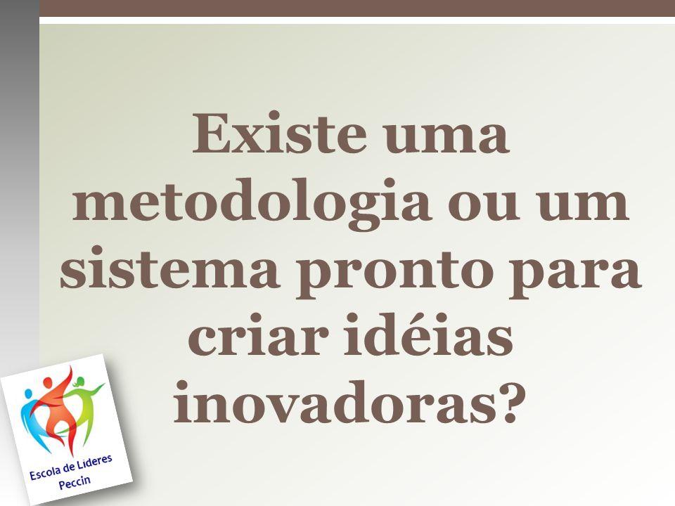 Existe uma metodologia ou um sistema pronto para criar idéias inovadoras?